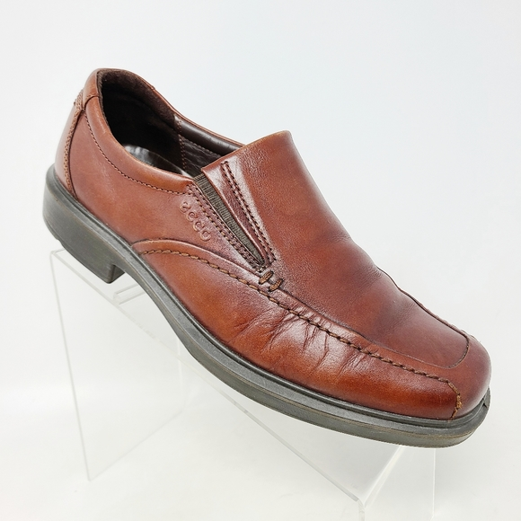 Ecco Mens Loafer Shoes Sz US 9 - 9.5 / EU 43 Brown
